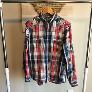 Express button down flannel